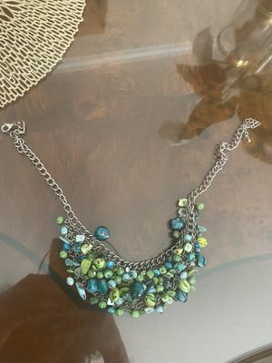 Turquoise Blue Statement Necklace for Sale in Los Angeles, CA