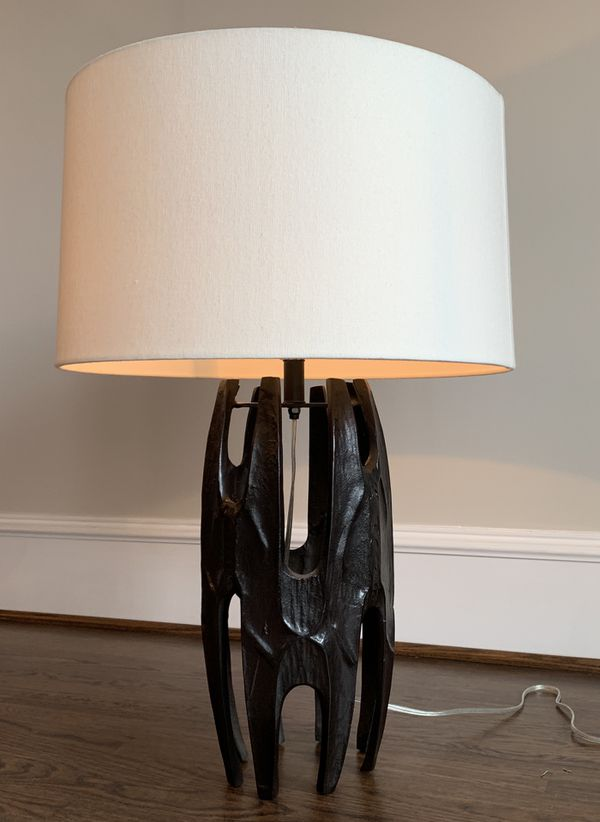 AFRICAN INSPIRED TABLE LAMP