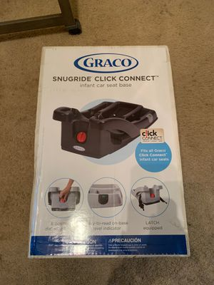 Graco click connect car seat holder for Sale in Norfolk, VA