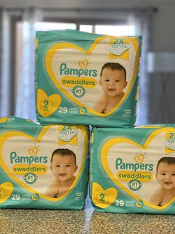 Pampers Diapers Swaddlers Size 2 for Sale in Los Angeles,  CA