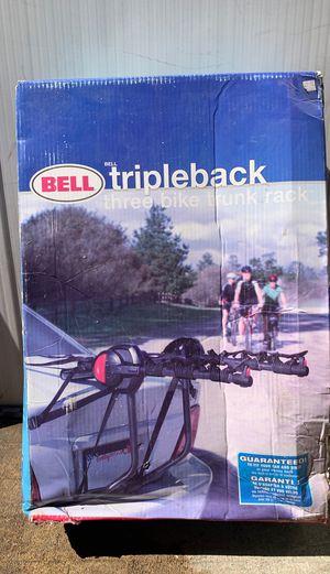 Bell Tripleback Trunk Rack for Sale in Fresno, CA