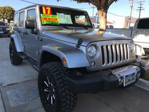 2017 Jeep Wrangler Unlimited for Sale in South Gate, CA