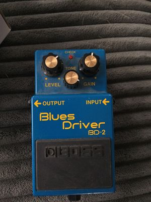 Boss BD-2 Blues Driver for Sale in Oakland, CA