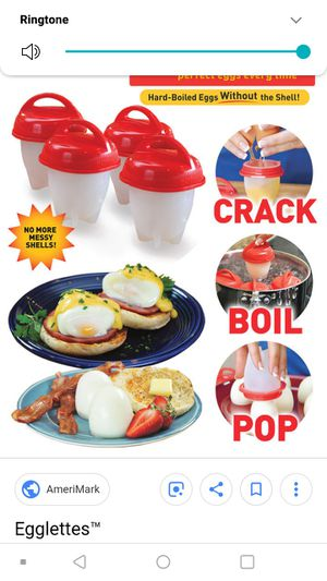 New! 16 piece Silicone Egg Cookers Egglettes for Sale in Hilldale, PA