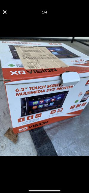 """Stereo 6.2"""" touch screen dvd Bluetooth for Sale in El Cajon, CA"""