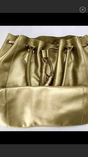 New Gold hobo bag never used in bag 10.00 for Sale in Spring Hill, FL
