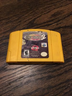 N64 Tony Hawk Pro Skater 2 Game for Sale in Los Angeles, CA