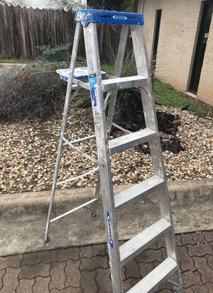 6FT all aluminum werner ladder 250 pounds for Sale in Austin, TX