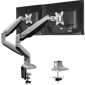 """Heavy Duty Aluminum Dual Monitor Stand for 13-32 """" Screens — Gas Spring System for Sale in Chatsworth, CA"""