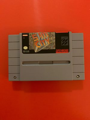 Sim City Super Nintendo (untested) for Sale in Worthington, OH