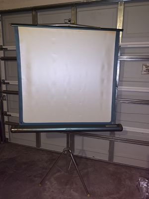 Portable screen for projection for Sale in St. Petersburg, FL