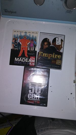 3 New DVDs never opened for Sale in Springfield, MA