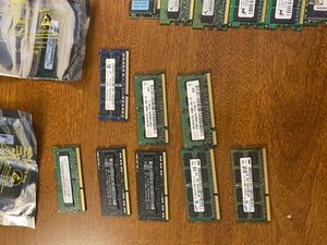 Ram sodimm for laptop notebook memory repair parts for Sale in Westminster, CA