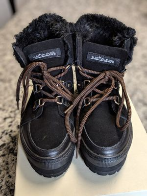 Suede/Faux Fur Platform Boot for Sale in Clarksburg, MD