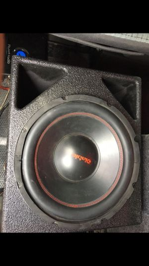 "12"" diablo 2000 watts for Sale in Dallas, TX"