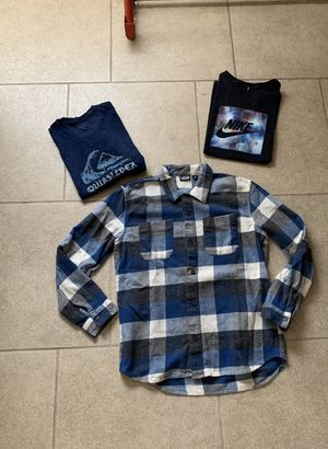 Youth size xl skate clothing shirt lot for Sale in Chandler, AZ