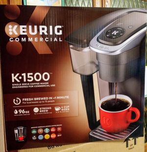Keurig K-1500 Commercial Coffee Maker (New, Never Used) for Sale in Downey, CA