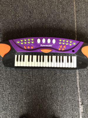 Kids Kawasaki 37 Key Musical Electronic Keyboard Digital Piano Works Great for Sale in Temecula, CA
