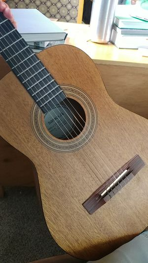Acoustic guitar with nylon strings for Sale in Lake Stevens, WA