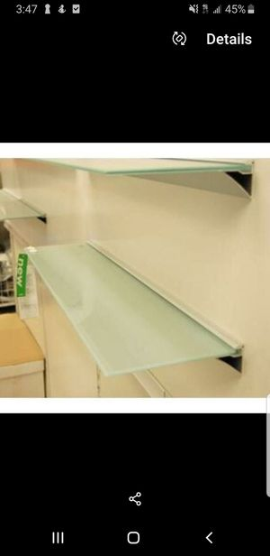 Glass Wall Mounted Shelves for Sale in Bellevue, WA