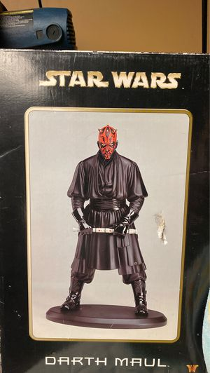 Darth Maul attakus collection statue for Sale in Nether Providence Township, PA