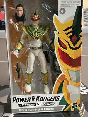 Power Rangers lighting collection Lord Drakkon for Sale in Pomona, CA