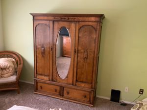 Antique armoire for Sale in Norco, CA