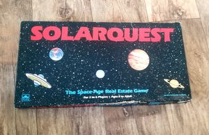 Solarquest Space age Real Estate Board Game Vintage 1986 Golden for Sale in Marysville, WA