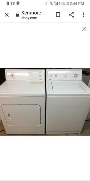 Electric washer and dry er . Dee livery? for Sale in Penn Hills, PA
