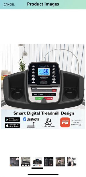 SereneLife Smart Digital treadmill New for Sale in Columbus, OH