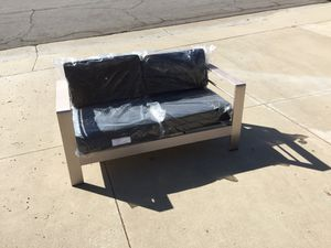 "Patio Couch Metal Frame Brand New 57""×28"" for Sale in Walnut, CA"