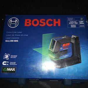 100 Foot Cross Line Laser Bosch New for Sale in Fort Myers, FL
