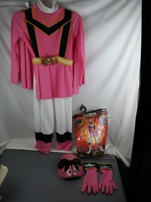 Power Rangers mystic force costume girls 7-8 for Sale in California City, CA