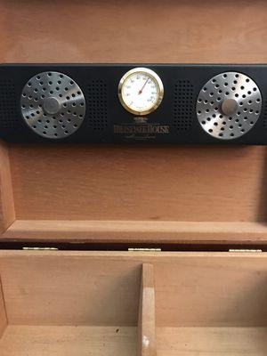 Custom Cedar Humidor with inlay for Sale in Modesto, CA