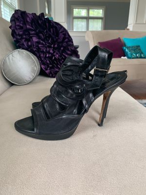 Christian Dior Mesh and Leather Ankle Heels for Sale in Accokeek, MD