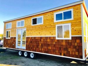 Brand new TINY HOUSE ON WHEELS 8.5 X 30 FULLY OFF GRID for Sale in San Diego, CA