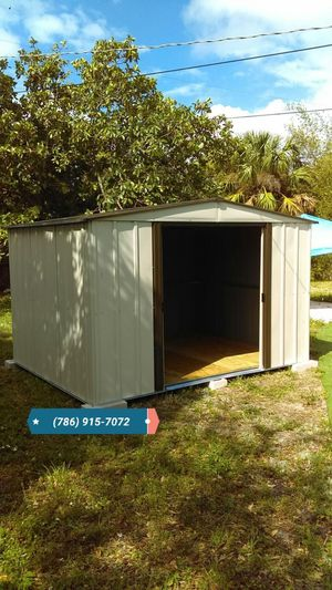SPACIOUS BRAND NEW 10X8 SHED WITH FLOORING for Sale in Miami, FL