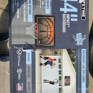 Basketball Hoop/back Board for Sale in Silverado, CA