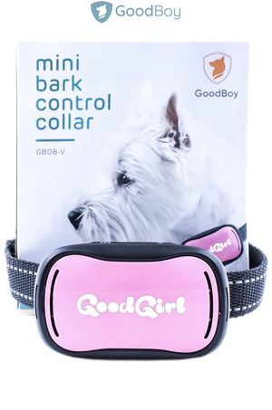 GoodBoy Small Rechargeable Dog Bark Collar for Tiny to Medium Dogs Weatherproof and Vibrating Anti Bark Training Device That is Smallest & Most Safe for Sale in Covina, CA