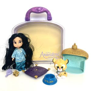 Disney Animators Collection Jasmine and Rajah complete Play Set with Carrying Case! for Sale in Elizabethtown, PA