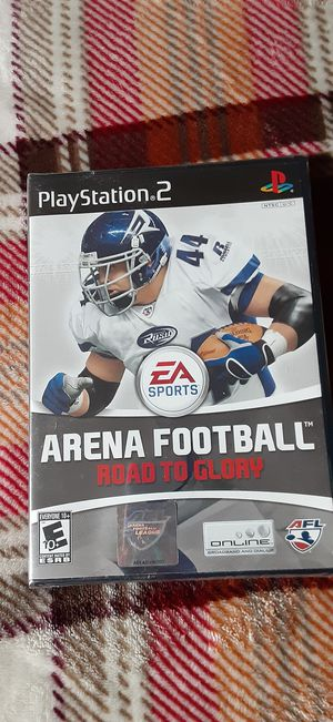 2007 Arena Football Road to Glory PlayStation 2 for Sale in Bellevue, WA