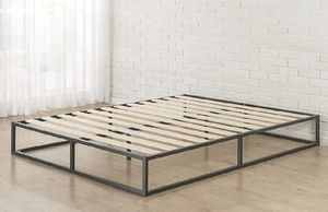 King & QUEEN SIZE Zinus Joseph Modern Studio 10 Inch Platforma Low Profile Bed Frame ( K$75 , Q$70 ) for Sale in Hammond, IN