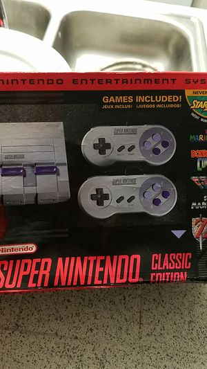 Super Nintendo classic for Sale in San Diego, CA