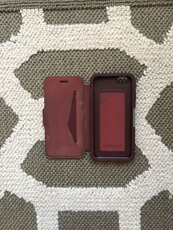 iPhone 6s Otterbox wallet case