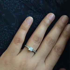 Silver filled wedding engagement ring women's jewelry accessory size 5,6,7,8.5 available for Sale in Silver Spring, MD