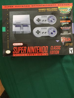 Super Nintendo classic nes for Sale in Princeton, WV