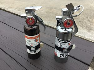 SMALL FIRE EXTINGUISERS FOR STREET RODS, CAMPERS ETC. $25. Each for Sale in IN, US