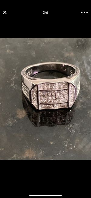 925 sterling silver diamond ring for Sale in Tampa, FL