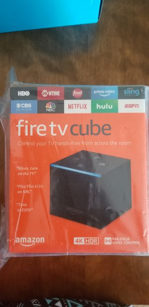 Fire TV cube for Sale in Upper Marlboro, MD