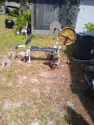 Bench press weights for Sale in Orlando, FL